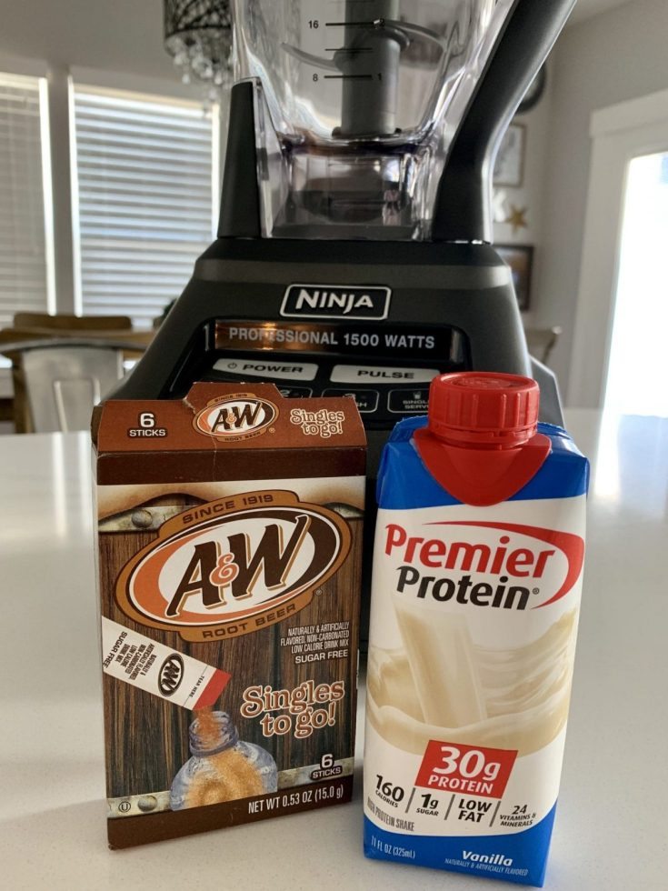 2 Point Rootbeer Protein Shake