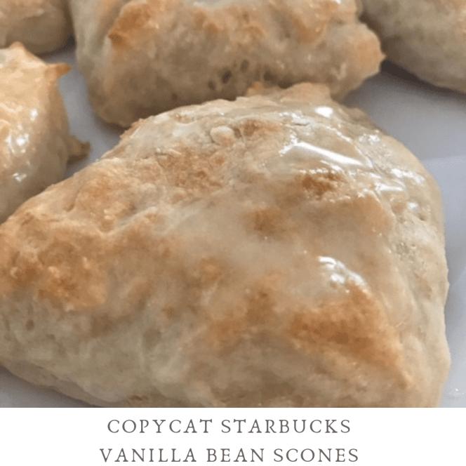 Copycat Starbucks Vanilla Bean Scones - Pound Dropper