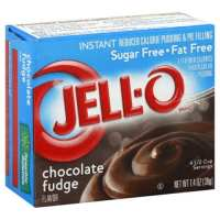 Jell-o Pudding & Pie Filling Reduced Calorie, Instant Chocolate Fudge