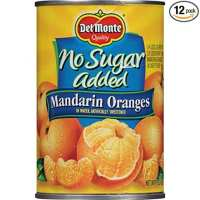 Del Monte Canned Mandarin Oranges in Water, No Sugar Added