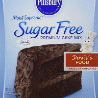 Pillsbury Moist Supreme Sugar Free Devil's Food Cake Mix