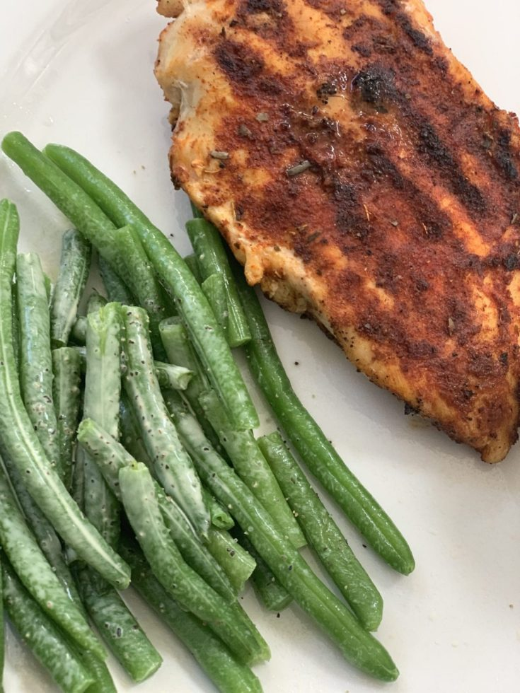 Zero Point Cajun Tilapia or Chicken Breast