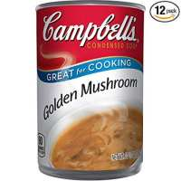 Campbell's Condensed Golden Mushroom Soup, 10.5 oz. Can (Pack of 12)