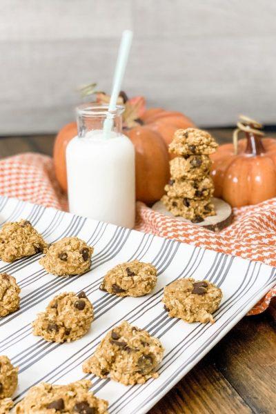 WW Pumpkin Oatmeal Chocolate Chip Cookies