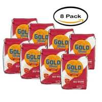 PACK OF 8 - Gold Medal Self-Rising Flour 5.0 lb Bag