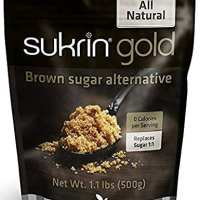 Sukrin Gold - The Natural Brown Sugar Alternative - 1.1 lb Bag (Single)