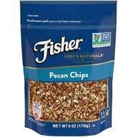 FISHER Chef's Naturals Pecan Chips, No Preservatives, Non-GMO, 6 oz