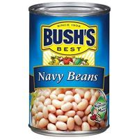 Bush's Best, Navy Beans, 16oz Can (Pack of 6)