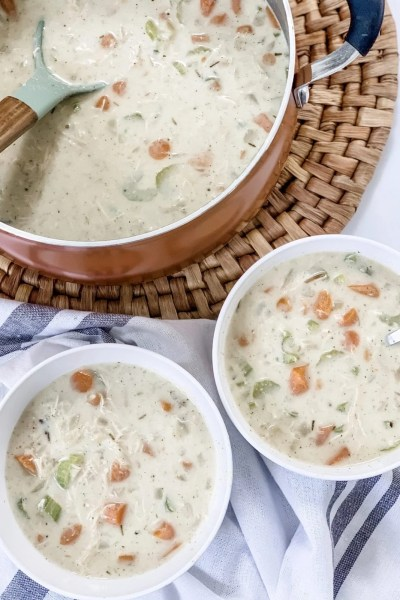 WW Creamy Chicken and Wild Rice Soup