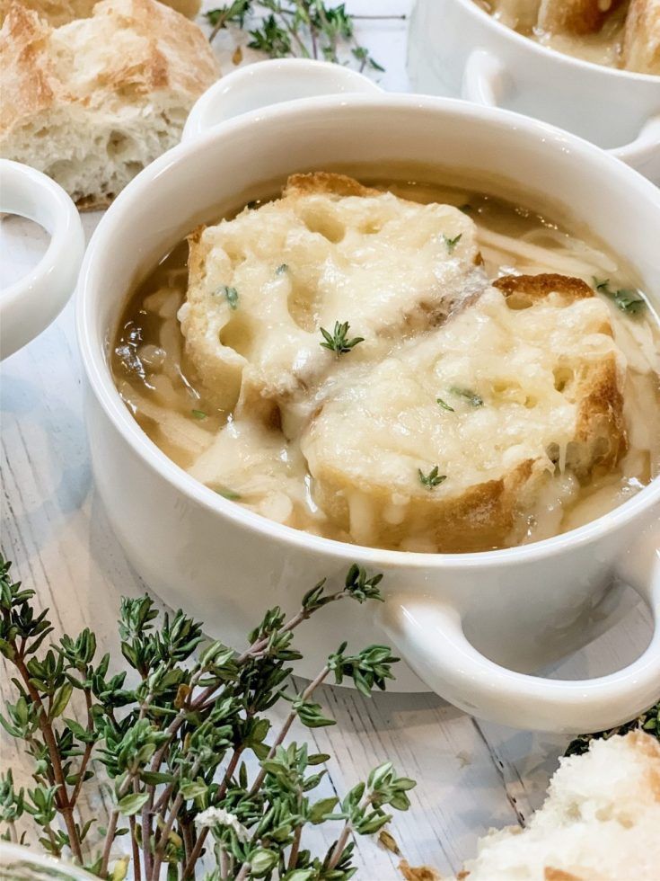 Lightened Up French Onion Soup