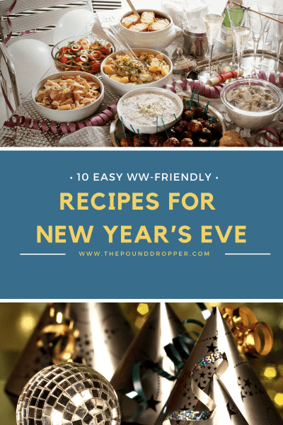 Ten Easy WW Recipes for New Year's Eve