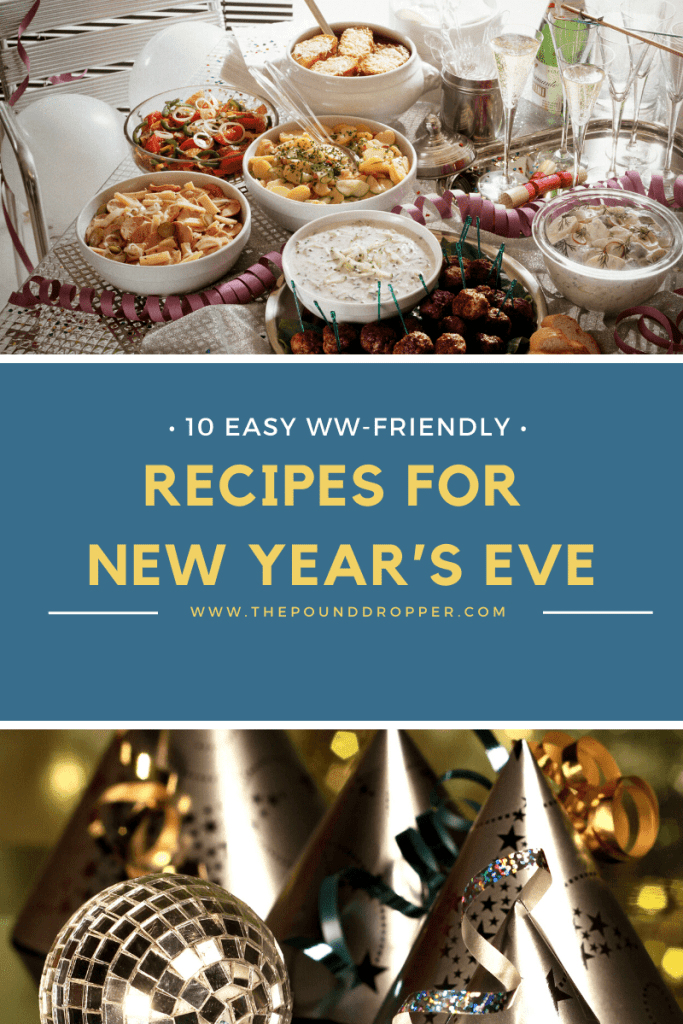 Ten Easy Ww Recipes For New Year S Eve Pound Dropper