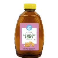 Happy Belly Raw Wildflower Honey,