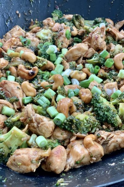 Easy Skinny Cashew Chicken