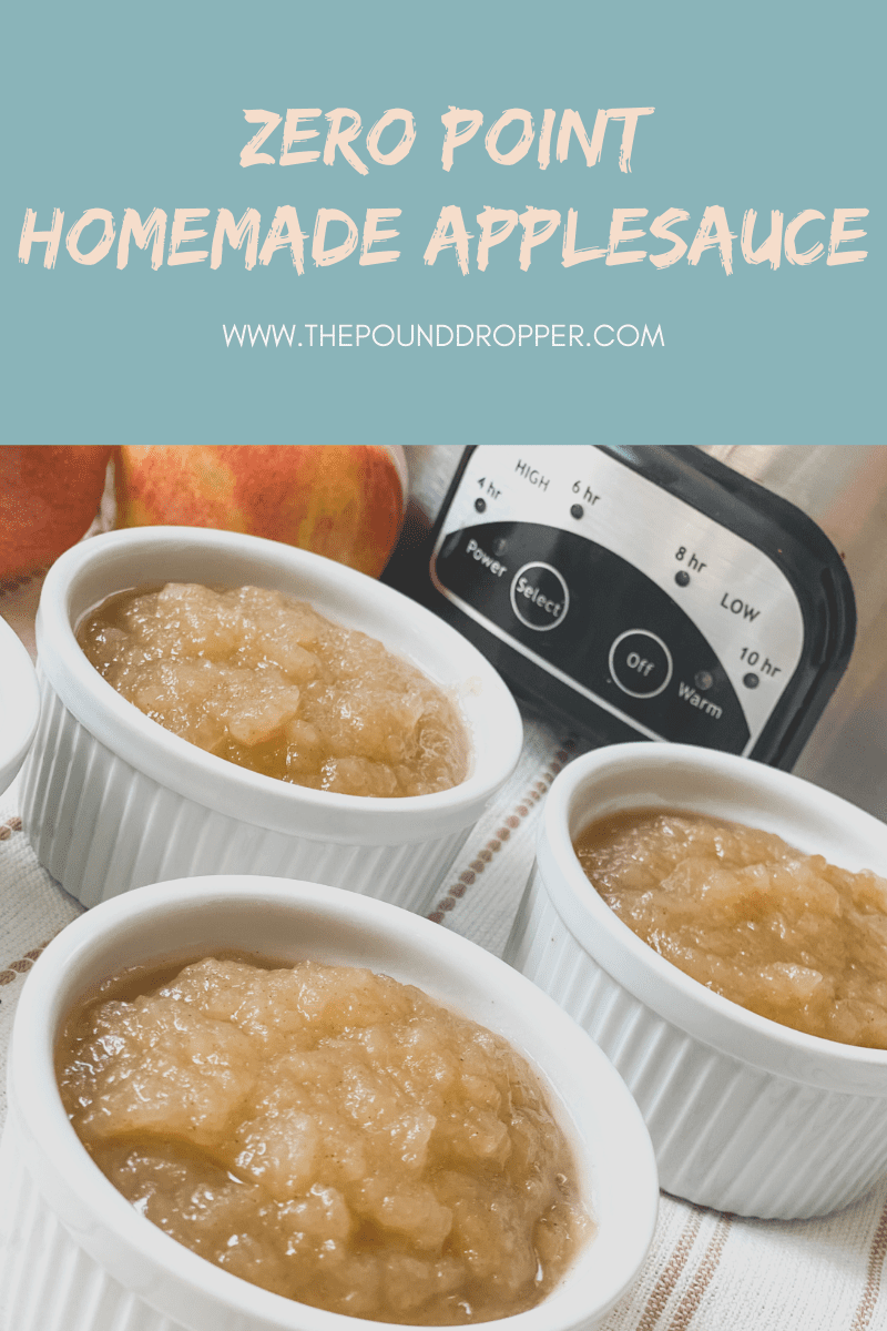 Zero Point Homemade Applesauce via @pounddropper