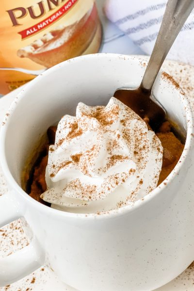 Skinny Pumpkin Mug Cake
