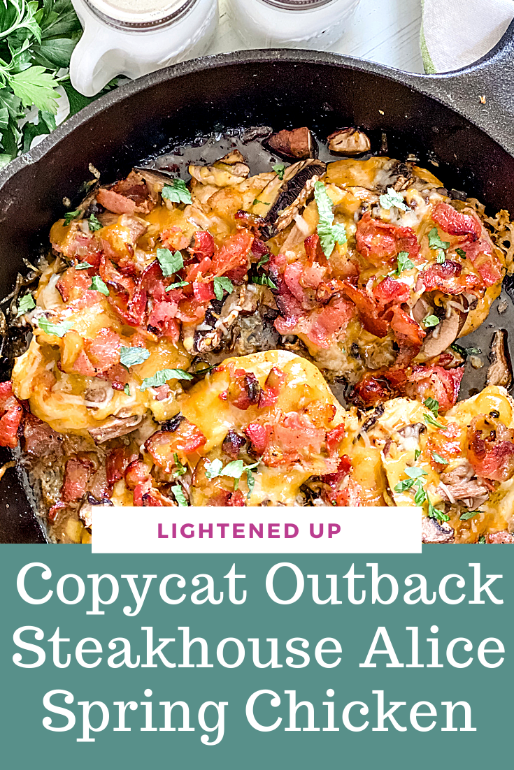 Lightened Up Copycat Outback Steakhouse Alice Springs Chicken via @pounddropper