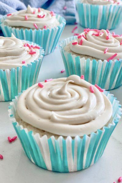 Skinny Vanilla Cupcakes