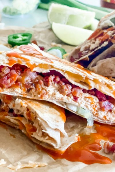 Buffalo Chicken Folded Wrap