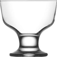 Vikko Clear Glass Footed Cups
