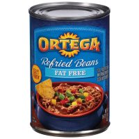 Ortega Refried Beans, Fat Free