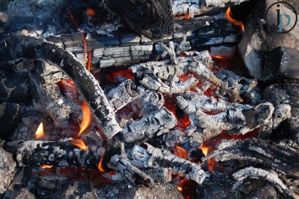 Burnign Coals