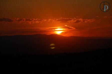 """M"" Sunset"