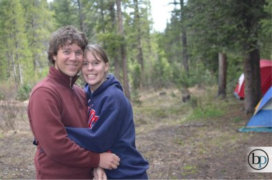 Hyalite Canyon - Camping Couple