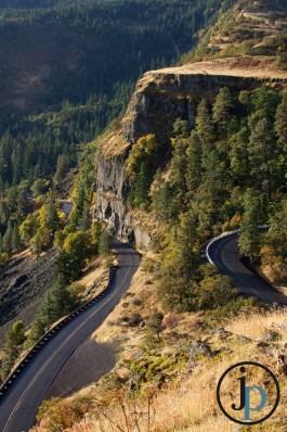 Winding Roadway