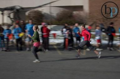 Better run faster Krista!