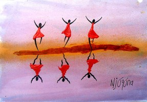 """""""Reflection of Joy"""" by Bernard Ndichu Njuguna of Kenya"""