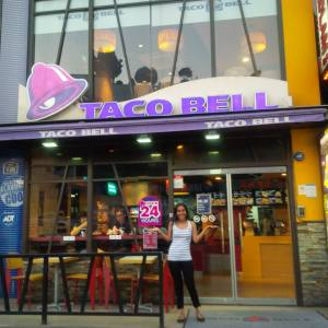Taco Bell in Seoul, South Korea. I love Taco Bell more than you.