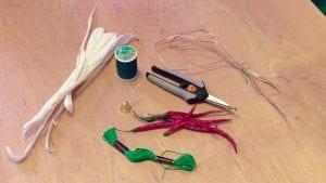 chili pepper ornament supplies