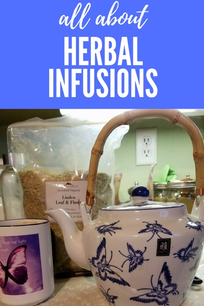 all about herbal infusions