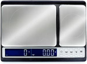 dual platform kitchen scale