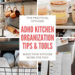 ADHD Kitchen Organization Tips and Tricks