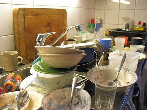 After Yoga, the Dishes
