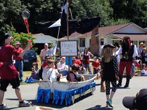 Community Parade on Whidbey Island