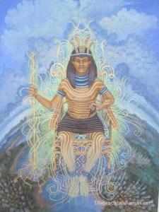 Shu Ancient Wind God
