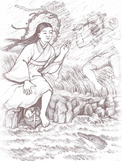 When Yŏngdŭng Halmang blows in from the North it is time to pause, reflect, and align to your highest spiritual ideals before moving forward.
