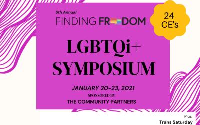 6th annual Finding Freedom LGBTQ Symposium