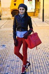 Prague Wandering Spring 2013 Issue Number 1 fashion street style Cindy Wowor