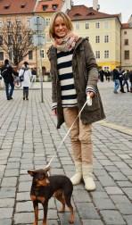 Prague Wandering Spring 2013 Issue Number 1 fashion street style Daniela Vavrickova