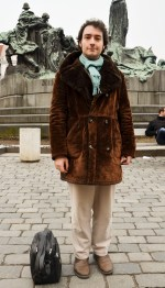 Prague Wandering Spring 2013 Issue Number 1 fashion street style Pavel Psota