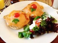 Prague Wandering Spring 2013 Issue Number 1 Zanzibar's salmon and egg on toast.
