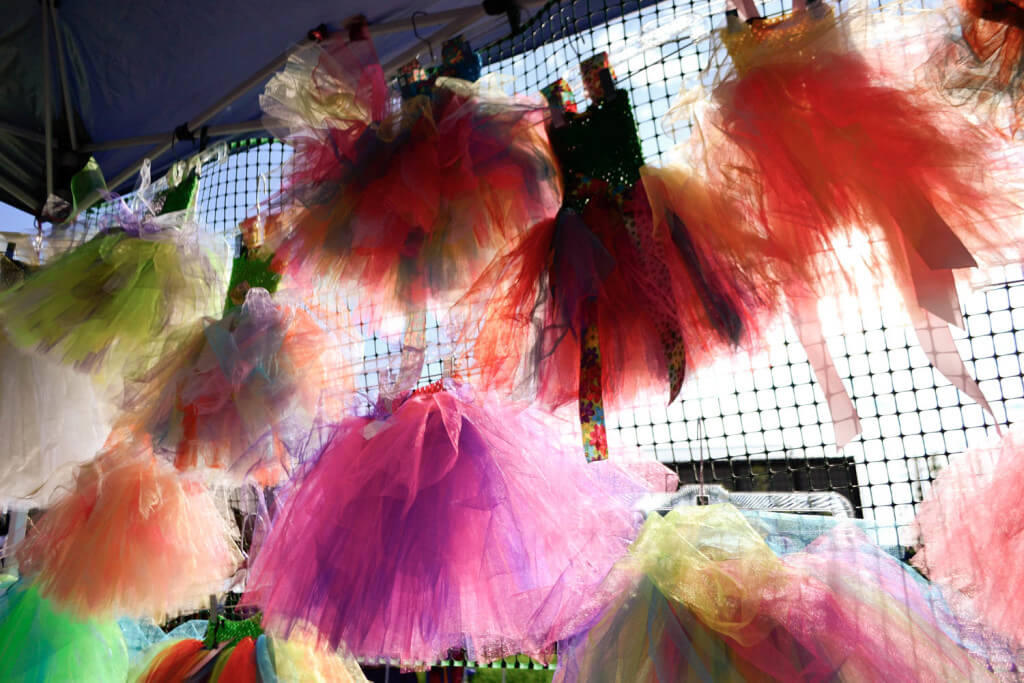Tutus are one of Judy's specialties.