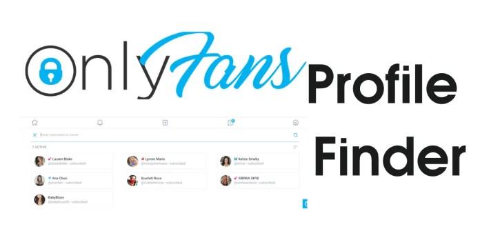 onlyfans profile finder