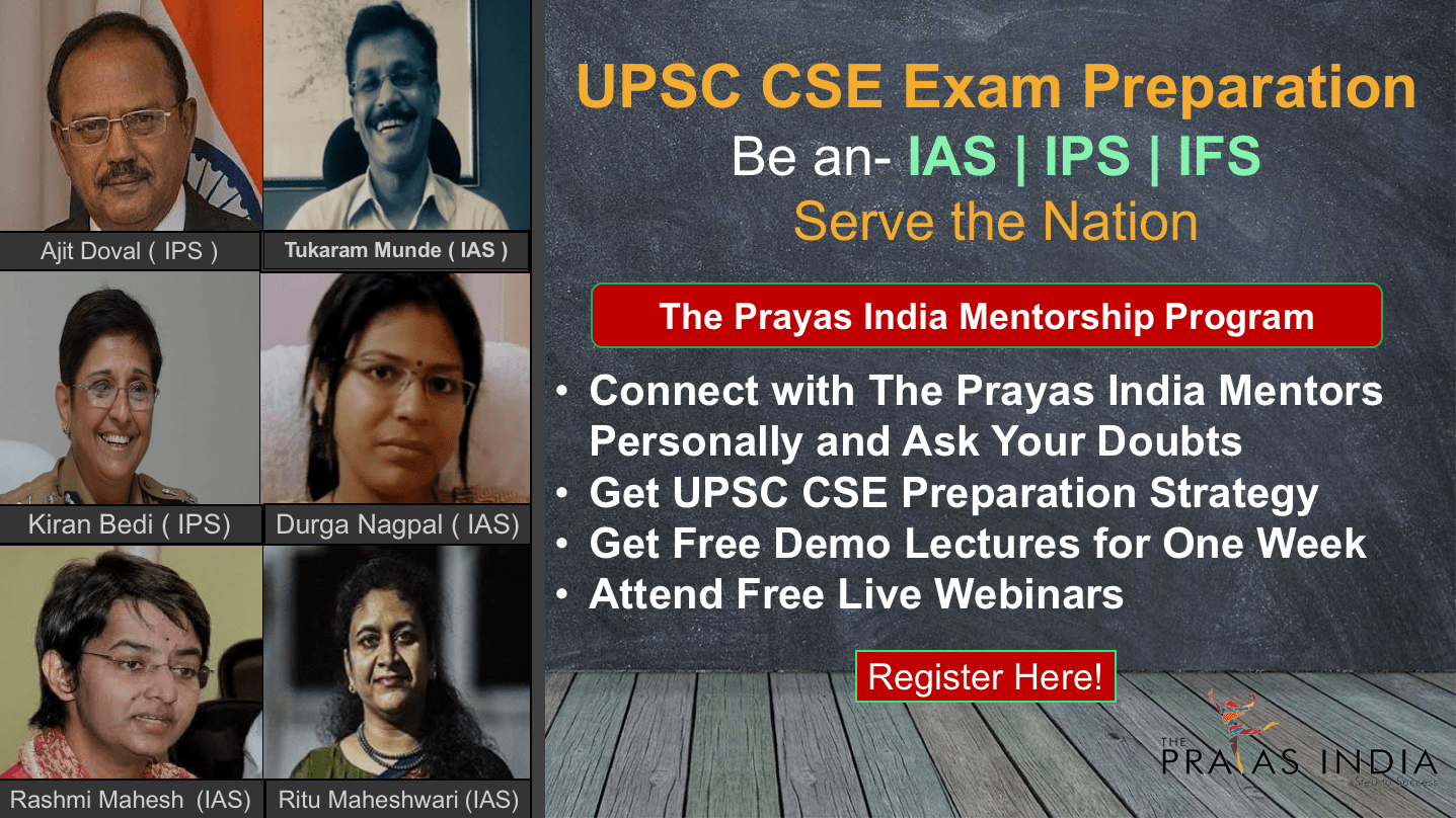 UPSC CSE Preparation The Prayas India