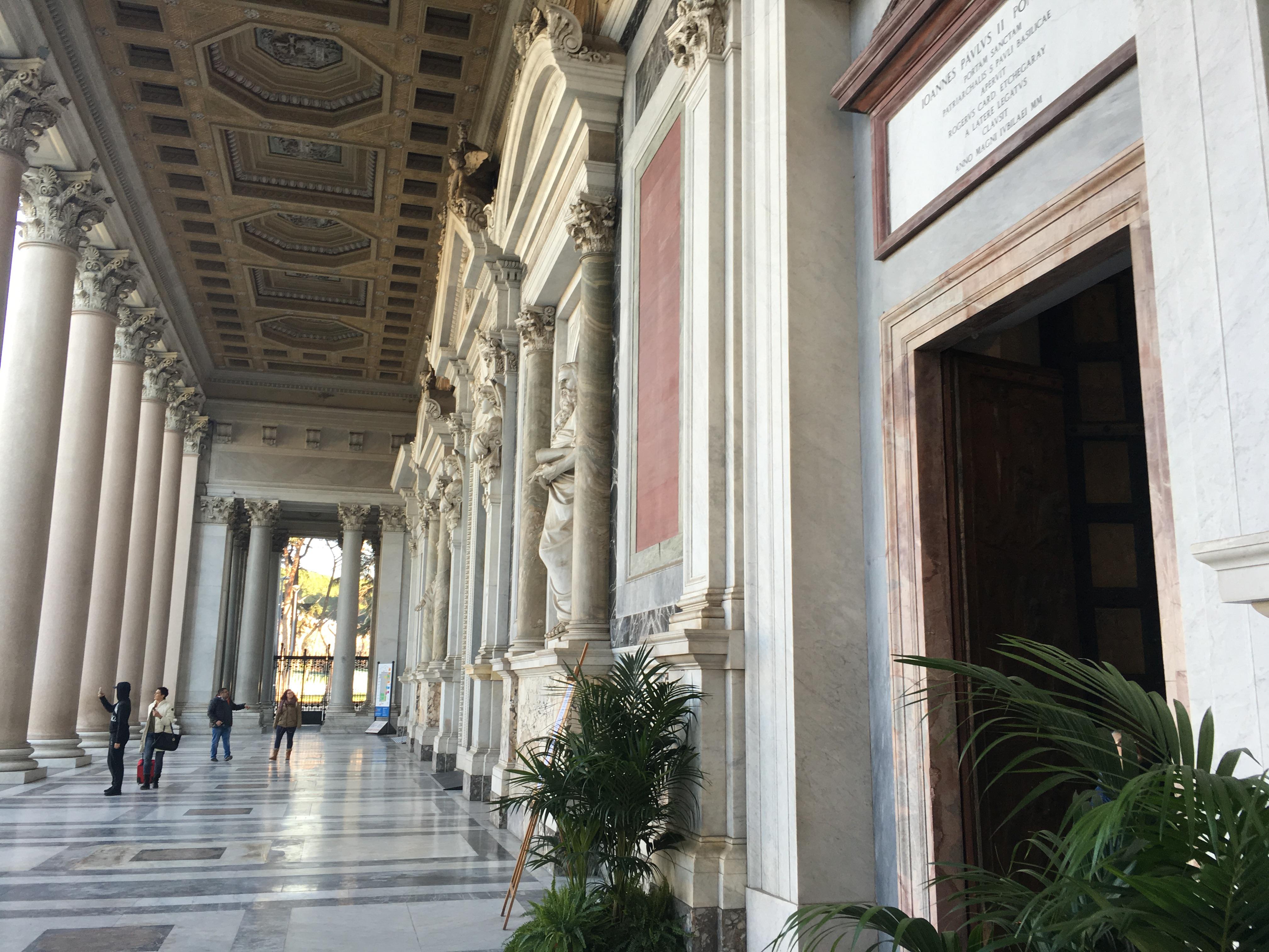 1. St. Paul's - Outside Rome