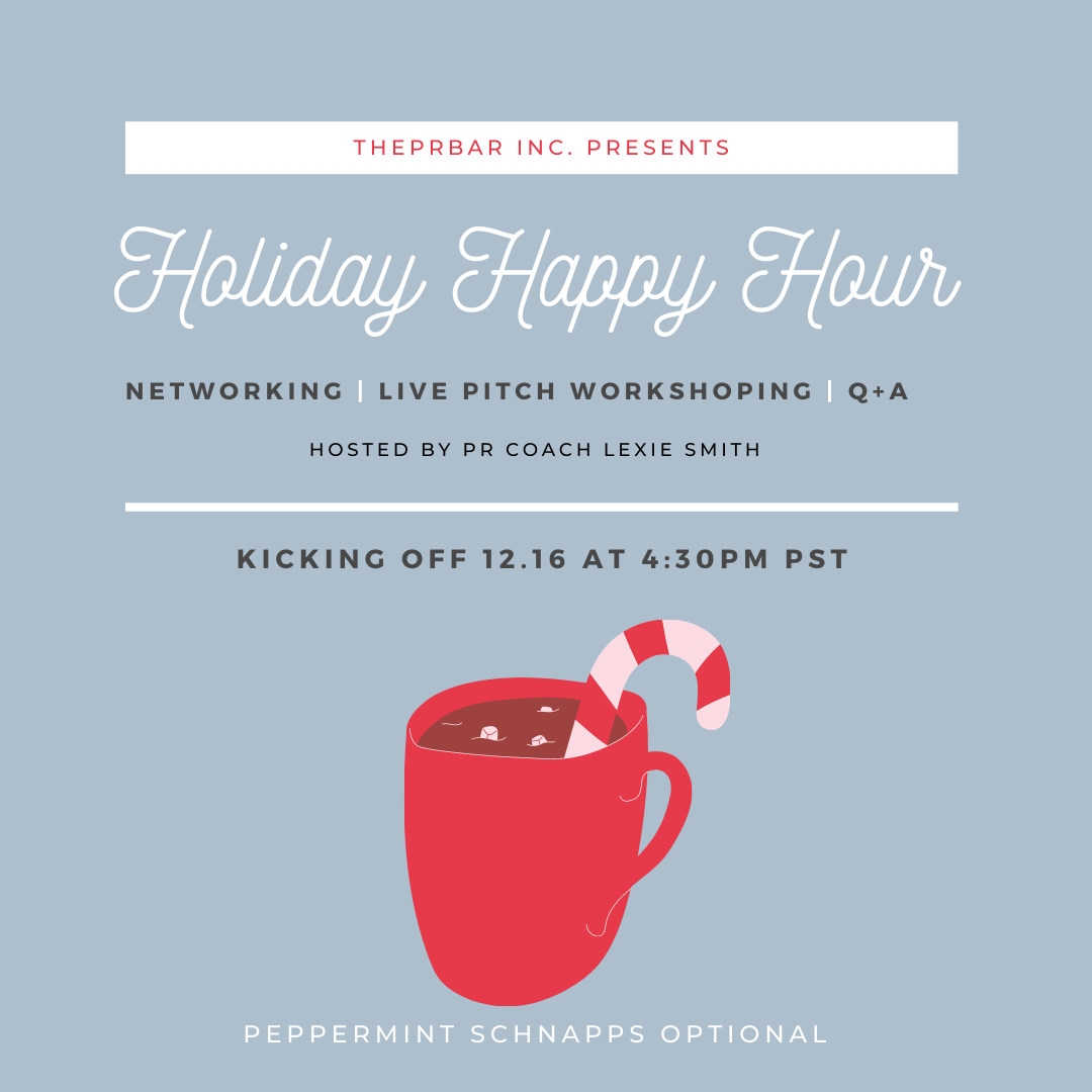 Holiday Happy Hour- THEPRBARINC.com